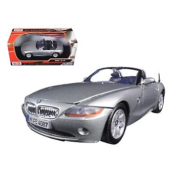Bmw Z4 Silver 1/24 Diecast Model Car par Motormax