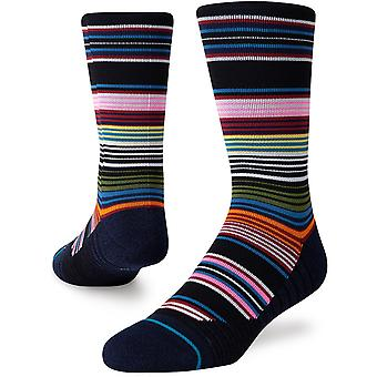 Stance Refresh Crew Socks in Black