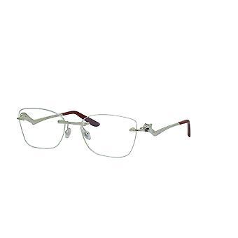 Cartier Panthere de Cartier CT0120O 003 Silver Glasses