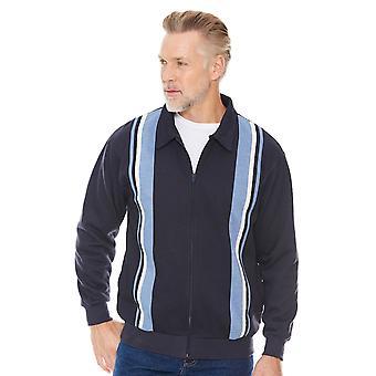 Chums Mens Zipper Sweatshirt