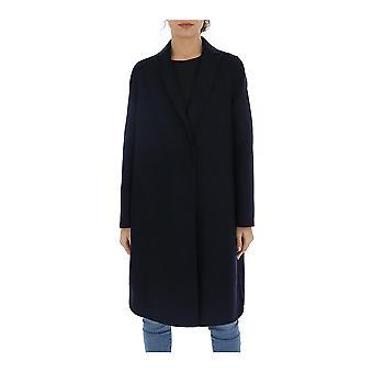Fabiana Filippi Ctd260w717a577vr11 Women's Blue Cashmere Coat