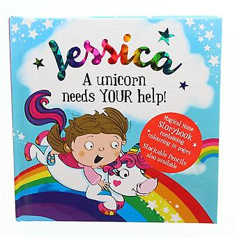 History & Heraldry Magical Name Storybook - Jessica