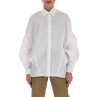 Gentry Portofino D217sig0001 Women's White Cotton Shirt
