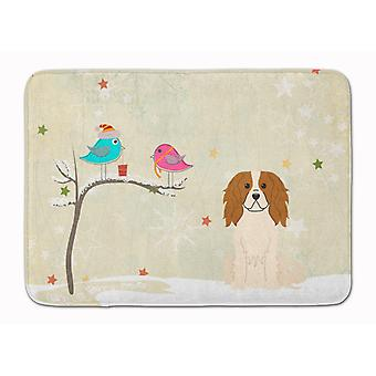 Christmas Presents between Friends Cavalier Spaniel Machine Washable Memory Foam
