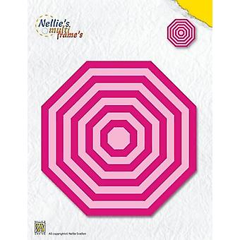 Nellie's Choice Multi Frame Die - XL prosty ośmiokąt MFD121 126x126mm