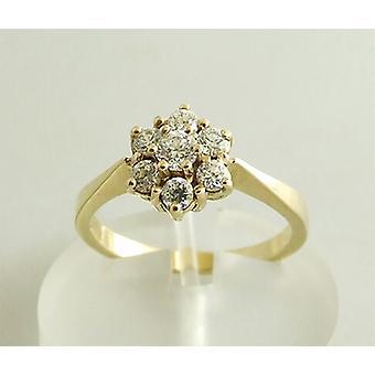 14 carat yellow gold used car ring