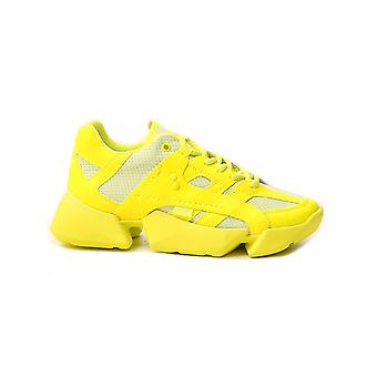 Junya Watanabe Jek1020513 Baskets en polyester jaune