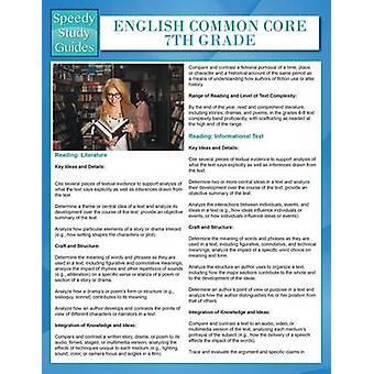 English Common Core 7th Grade Speedy Study Guides by Publishing LLC & Speedy
