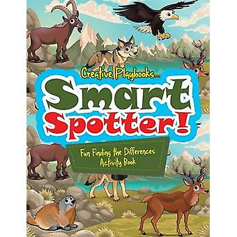 Smart Spotter Fun Finding the Differences Activity Book by Creative Playbooks