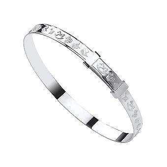 Eternity Sterling Silver Baby/Kids Expanding Rocking Horse Bangle