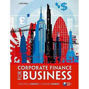 Corporate Finance for Business by John-Paul Marney - 9780199563395 Bo