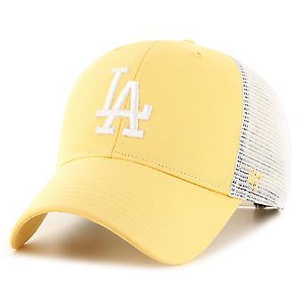 47 Brand Trucker Cap - FLAGSHIP LA Dodgers maize yellow