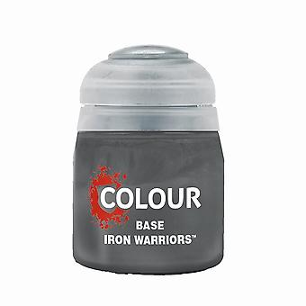 Iron Warriors (12ml), Citadel Paint - Base, Warhammer 40,000/Age of Sigmar