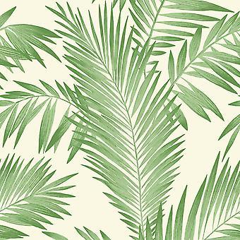 Tropisk palme tapet grøn arthouse 906802