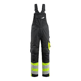 Mascot hi-vis sunderland bib-brace overall 15669-860 - safe supreme, mens -  (colours 1 of 2)