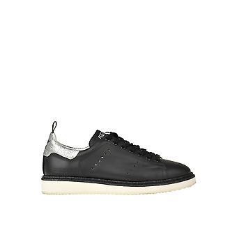 Golden Goose Ezgl041109 Women's Black Leather Sneakers