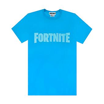 Fortnite T Shirt For Boys | Kids Blue Battle Royale Tee | Childrens Game Gift Merchandise