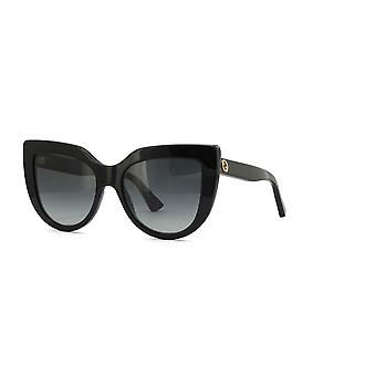 غوتشي GG0164S 001 نظارات تدرج الأسود / الرمادي