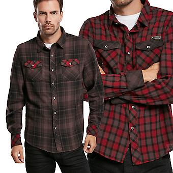 Brandit - Duncan Checked Flannel Shirt