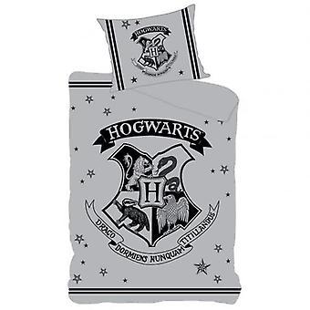 Harry Potter Single Duvet Set Hogwarts