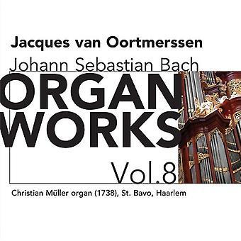J.S. Bach - Bach: Organ Works, Vol. 8 [CD] USA import