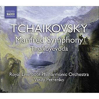 P.I. Tchaikovsky-Tchaikovsky: Sinfonia de Manfred; o Voyevoda [CD] EUA importação