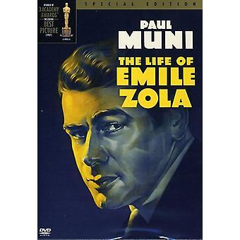 Life of Emile Zola [DVD] USA import