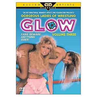 Glow - Glow: Vol. 3 [DVD] USA importerer