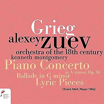 Grieg / Zuev, Alexey - Grieg: Piano Concerto in a Minor Op 16 / Ballade in G Minor [CD] USA import