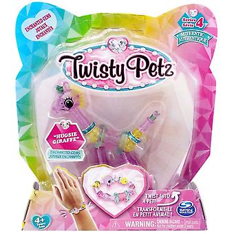 Twisty Petz Single Pack Series 4 - Hugsie Giraffe- Enchanted Gems