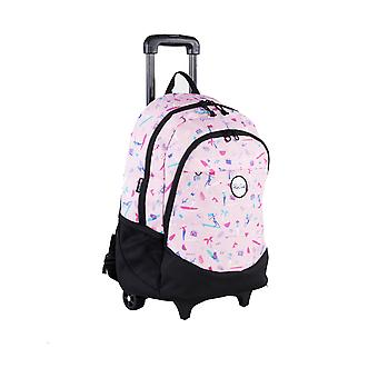 Rip Curl Wheeled Proschool 2020 Wheeled Backpack in Pink
