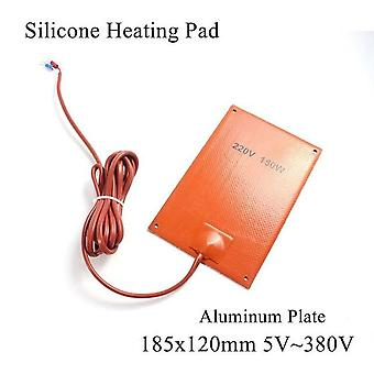 Silicone Heating Pad Square Rubber - Bed Plate Flexible Waterproof