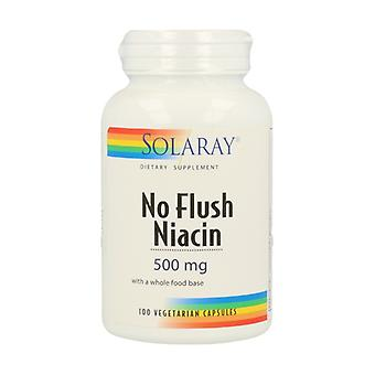 No Flush Niacin 100 vegetable capsules of 500mg