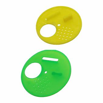 5 Pc Plastic Round Beekeeping  Beehives Nest Door Vents