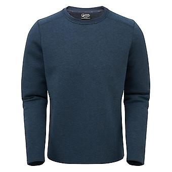 North Ridge Men's Ridge Crew Neck Jumper Blue