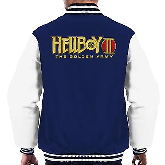 Hellboy II The Golden Army Logo Men's Varsity Jacket