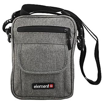 Element Road Unisex Classic Side Bag em Cinza