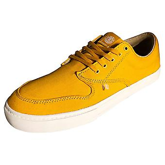 Element Topaz C3 Mens Skate Trainers in Yellow