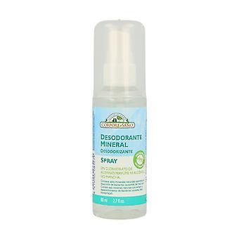 Potassium Alum Mineral Deodorant (Spray) 80 ml