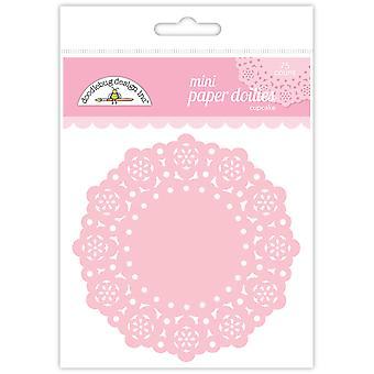 Doodlebug Design Cupcake Mini Doilies (75szt)(4596)