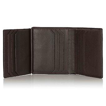Espresso Malvern Leather Trifold Wallet
