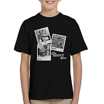 Sooty Retro 1950's Photo Montage Kid's T-Shirt