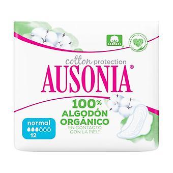 Ausonia Organic Normal -Wings 12 Stück