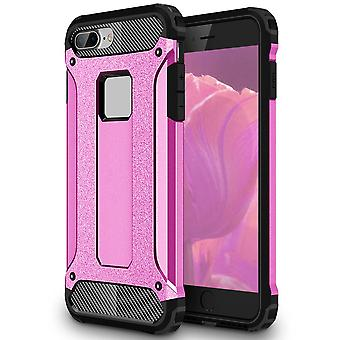 Shell for Apple iPhone 5c Hard Armor Protection Pink TPU Case