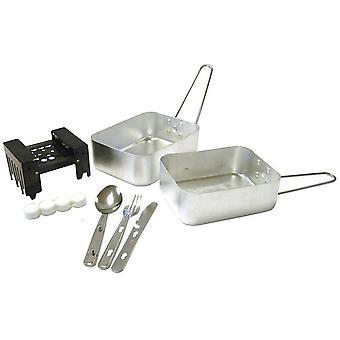Hi-Gear Festival Kit Cooking Set Natural