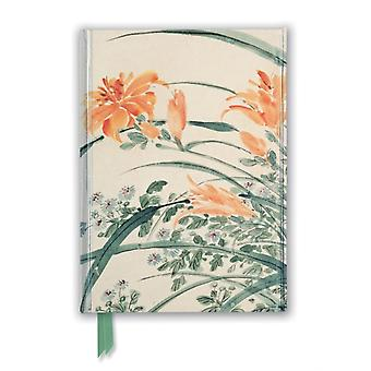 Chen Chun Garden Flowers Foiled Journal by Created by Flame Tree Studio