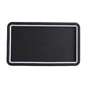 non-slip mat 20 x 11 cm black