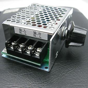 4000w 220v Scr Voltage Regulator- Motor Speed Controller Dimming Thermostat