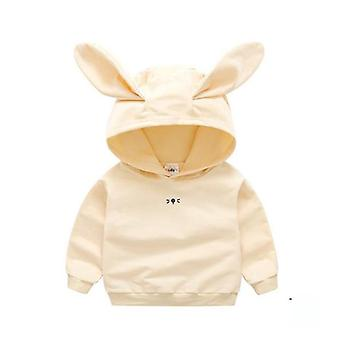 Newborn Infant Baby Girl Hooded Casual Jacket / Coat For Boy / Girls With Rabbit Ear- Fall Spring Clothes Sport Wear