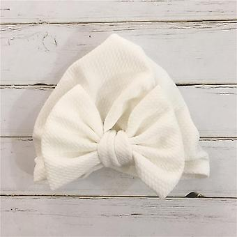1pcs Solid Cotton Big Bow Hat- Baby Headbands